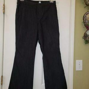 Chico's womens Jean's blue/gray size 1 EUC